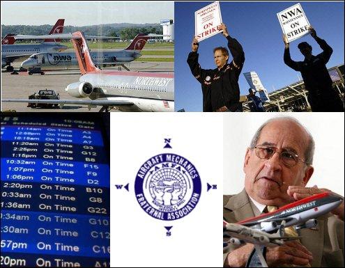 Northwest Airlines Mechanics Strike